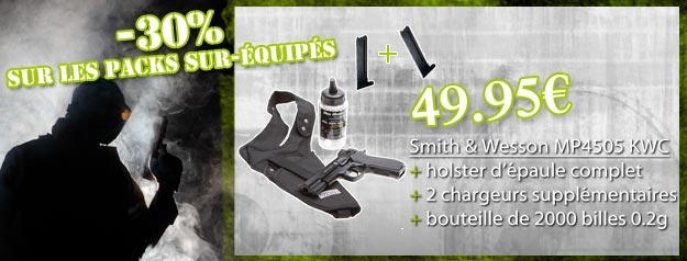 Pack smith et wesson