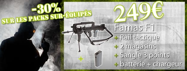 pack FAMAS F1