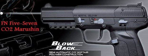 FNh Five-seveN Marushin CO2 BlowBack