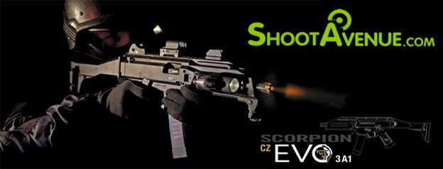 Le Scorpion EVO 3a1 est disponible sur Shootavenue