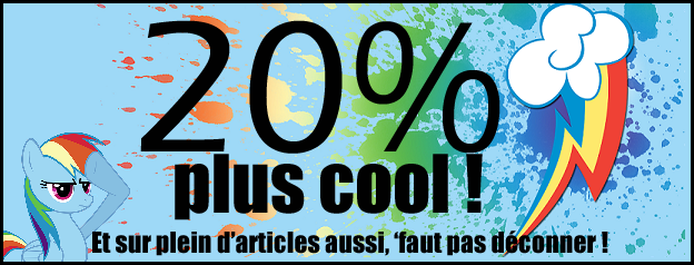 "Op�ration ""20% cooler"" pour un �t� color� !"