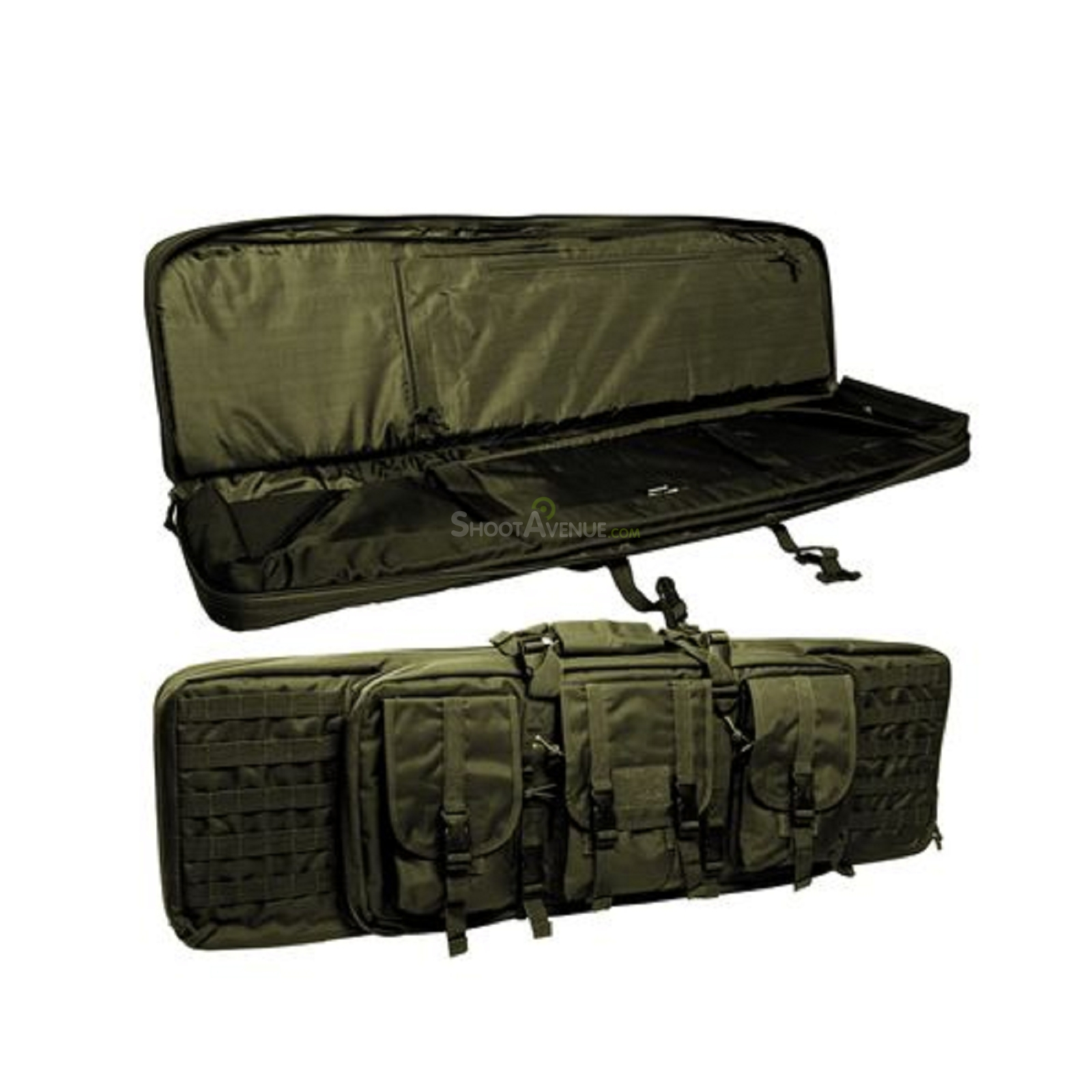housse transport fusil miltec olive 105 27 7 airsoft