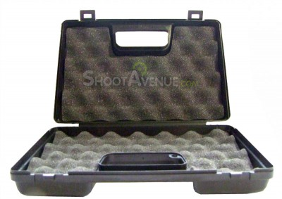 Mallette transport arme de poing - Noire  6*15*23