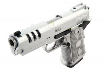 Pistolet WE metal Hi Capa 3.8 Chrome Blowback- Gaz