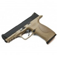 Pistolet WE M&P GBB Tan Gaz
