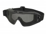Masque tactique Grillage Airsoft - Noir