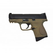 Pistolet WE M&P COMPACT GBB Tan Gaz