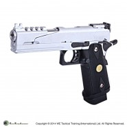 Pistolet WE Hi CAPA 5.1 Version B GBB Chrome Gaz