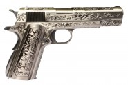 Pistolet WE 1911 Silver Classic Floral Pattern