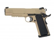 Pistolet Army 1911 Kimber R28 Full metal Tan -GBB