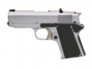 Army 1911 Detonics Compact R45 Full metal Silver