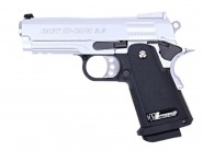 Pistolet WE Hi Capa 3.8 Baby Chrome Blowback- Gaz