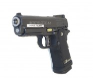 Pistolet WE Hi Capa 3.8 Baby Noir Blowback- Gaz