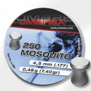 Plombs 4.5 mm Mosquito Tête plate  0.44 g - Umarex