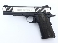 Colt 1911 Rail gun Bicolore culasse metal Blowback
