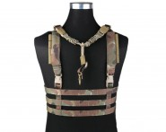 Veste Legere Molle Low profile Chest Rig Multicam