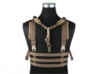 Veste Legere Molle Low profile Chest Rig - Coyote