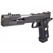 Pistolet WE Black Dragon 7.0 ver A  GBB Noir Gaz