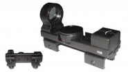 Lunette Tiberius Open Dot Sight metal-(rouge-vert)