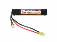 Batterie IPOWER Li-Po -7.4V 1100 mAh 20C -Mini