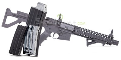 Fusil d assault DPMS SBR Metal CO2 Full auto BBS 4