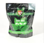 Billes BIO 0.28gr Blanches - King Arms - Sac 1Kg
