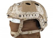 Casque tactique FAST PJ Molette-Digital Desert