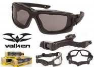 Lunette CE de protection Vtac Echo Smoke - Valken