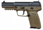 FN Five seveN CO2 - BAX Blow back-TAN - Marushin