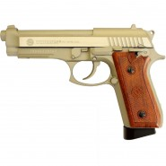 TAURUS PT92 Hairline Silver Mat culasse metal Blow