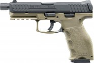 Pistolet H&K VP9 tactical - gaz Blowback-TAN - VFC