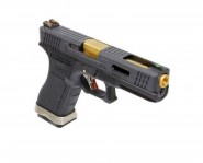 Pistolet WE S17 Gforce T1 Noir Or Noir GBB- Gaz