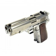 Pistolet WE Dueller 1911 Double Canon Silver GBB G