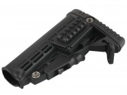 Crosse Type M4 Tactical - Complet avec Tube - Noir