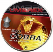 Plombs 4.5 mm Cobra Tête pointue  0.50 g - Umarex