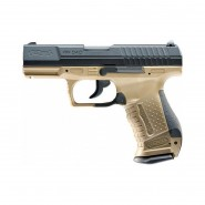 Pistolet Walther P99 DAO CO2 Umarex Blow Back- TAN